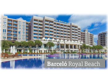Barceló Royal Beach - Hotel in Sunny Beach